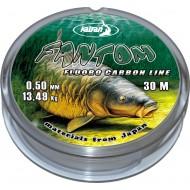 Леска флуорокарбон FANTOM 0.40мм 30м