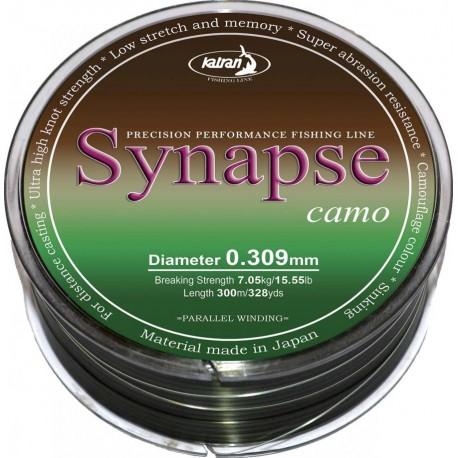 Леска Synapse Carp Camo 0.261mm 1000м