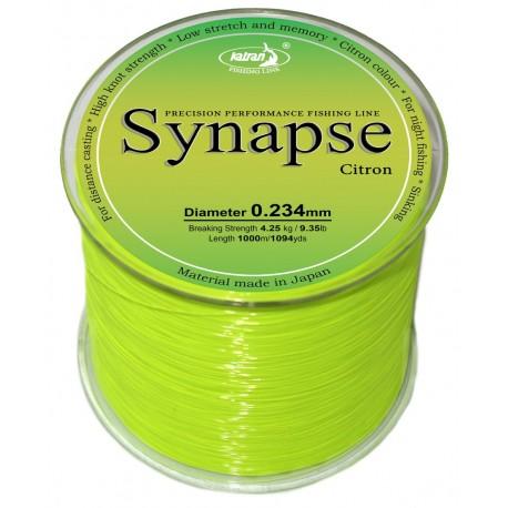 Леска Synapse Citron 0.234мм 1000м