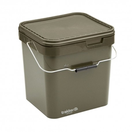 Ведро Trakker Olive Square Container 17л
