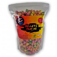 Piranhas Baits Pellets Fruit Mix 12mm 1kg
