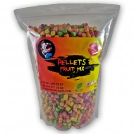 Piranhas Baits Pellets Fruit Mix 8mm 1kg