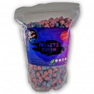 Piranhas Baits Pellets Fish Mix 12mm 1kg