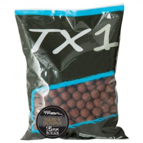 TRIBAL TX1 SQUID OCTOPUS BOILIES 15MM
