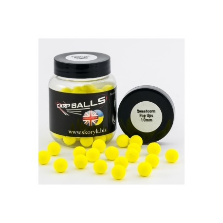 Pop Ups 10mm 15шт Sweetcorn CARPBALLS